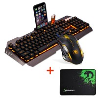 Kit Gamer Mouse + Teclado + Mouse Pad